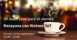 Desayuna con Watson